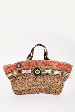 Straw CANASTO Handbag
