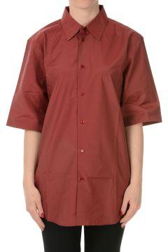 Cotton blend Short Sleeves Blouse