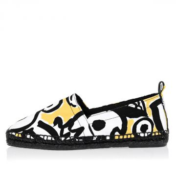 Printed Canvas VANILLA Espadrillas