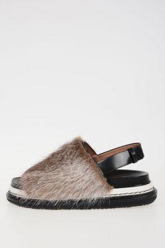 Leather & Fur FUSSBETT Sandals