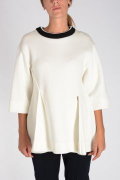 Sweatshirt with 3/4 Sleeves