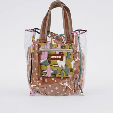 GLASS Square Shopper Bag