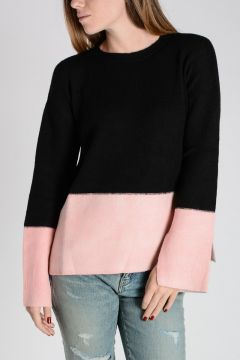 Cashmere Bi color Sweater