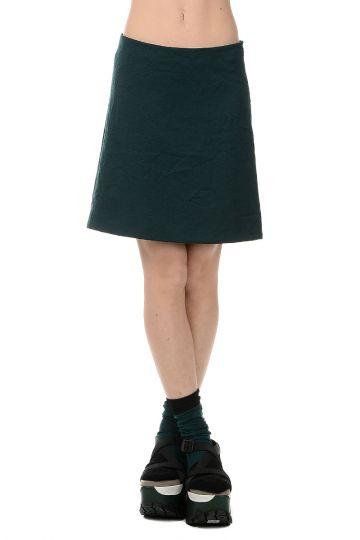 WASHED TECNICAL Mini skirt