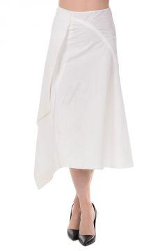 Cotton Asymmetrical Skirt