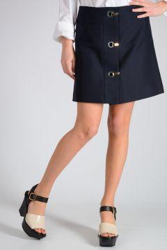 A Line Mini Skirt