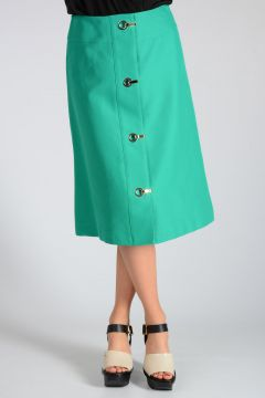 Cotton A-line Skirt