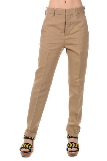 Pantalone in Cotone in Lino