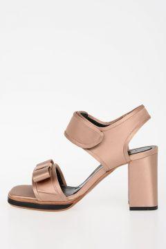 8cm Satin Sandals