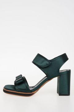 8 cm Satin Sandals