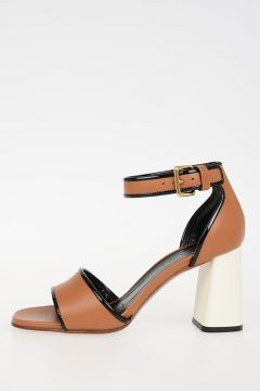 8cm leather Sandals