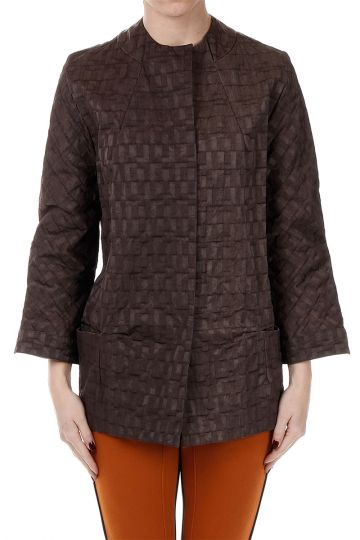 Tecnical Jacquard Duster Coat