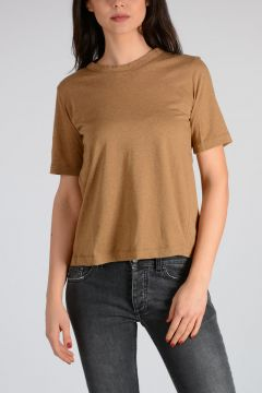 Cotton T-shirt with Bow
