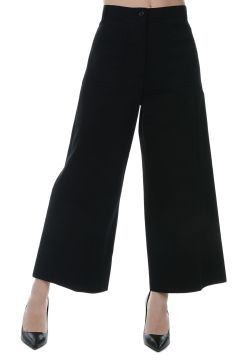 Cotton Culotte Pants