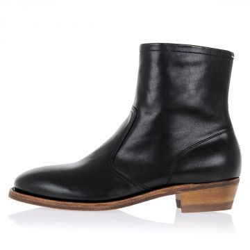 MM22 Tight High Ankle Leather Boots