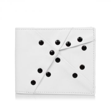 MM11 Leather Studded Wallet