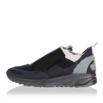 MM22 Sneakers in Pelle e Tessuto con Velcro
