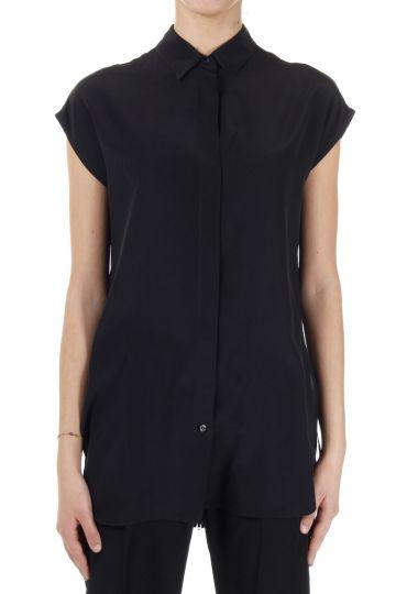 MM1 Sleeveless Silk Shirt