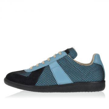MM22 Sneakers con Pelle e Tessuto