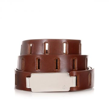 MM11 Perforated Leather Belt