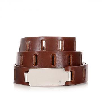 MM11 Cintura in Pelle Traforata