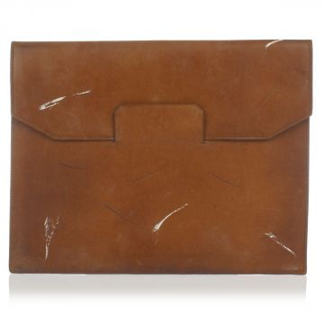 MM11 Vintage Leather Clutch
