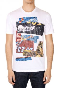 MM10 T-shirt in Cotone con Stampa