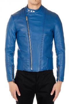 MM10 Padded Leather Jacket
