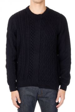 MM10 Knitted Round Neck Pullover