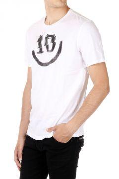 MM10 T-shirt Girocollo Stampata