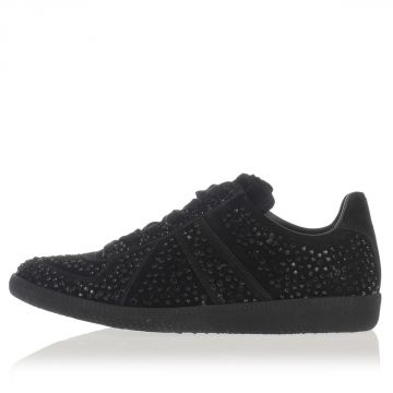 MM22 Sneakers  in Pelle con Strass