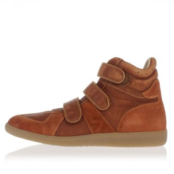 MM22 Sneakers Alte in Pelle  Scamosciata