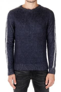 Round Neck Wool Mohair Sweater