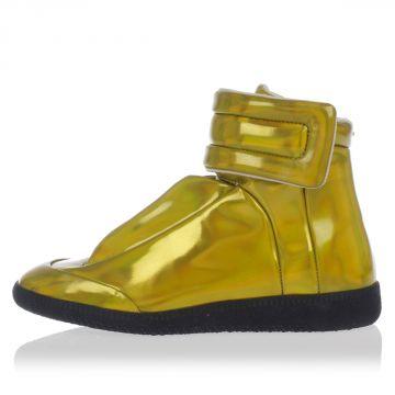 MM22 Sneakers Alte in Tessuto Laminato