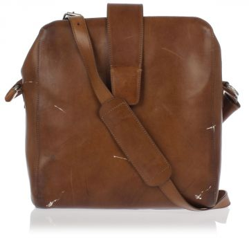 MM11 Leather Cross Body Bag