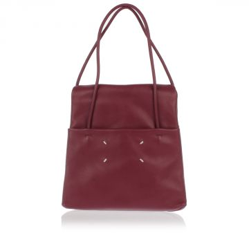 MM11 Mini Borsa a Mano in Pelle