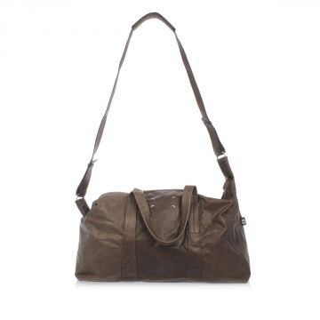 MM11 Leather Duffel bag with Strap