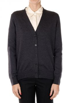 MM4 V neck wool Cardigan