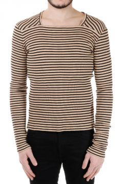 MM10 Striped Cotton Sweater