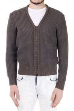 MM10 Zip Cotton Sweater