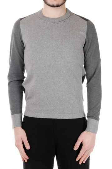 MM14 Tricolour Cotton Sweater