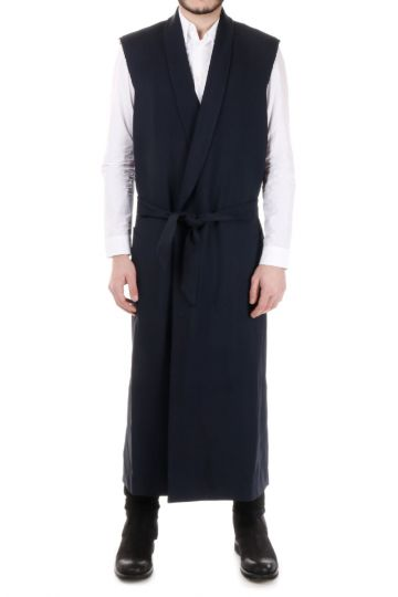 MM14 Asymmetric Cut Gilet with Belt