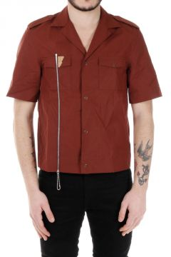 MM10 Short Sleeves Shirt with Zip