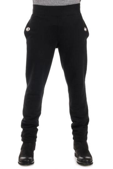 MM10 Pantaloni Effetto Tuta con Elastico alla Caviglia