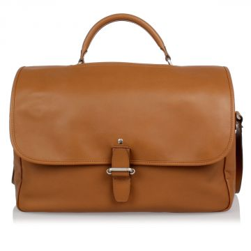 MM11 Leather Messenger Bag