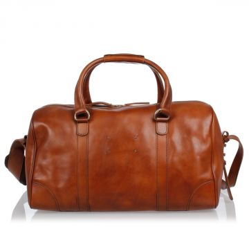 MM11 Duffel Bag in Leather