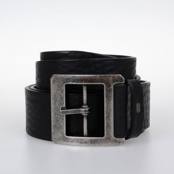 Leather Brass Belt