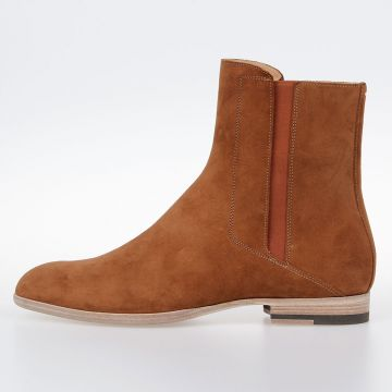 MM22 Suede Leather Chelsea Boots