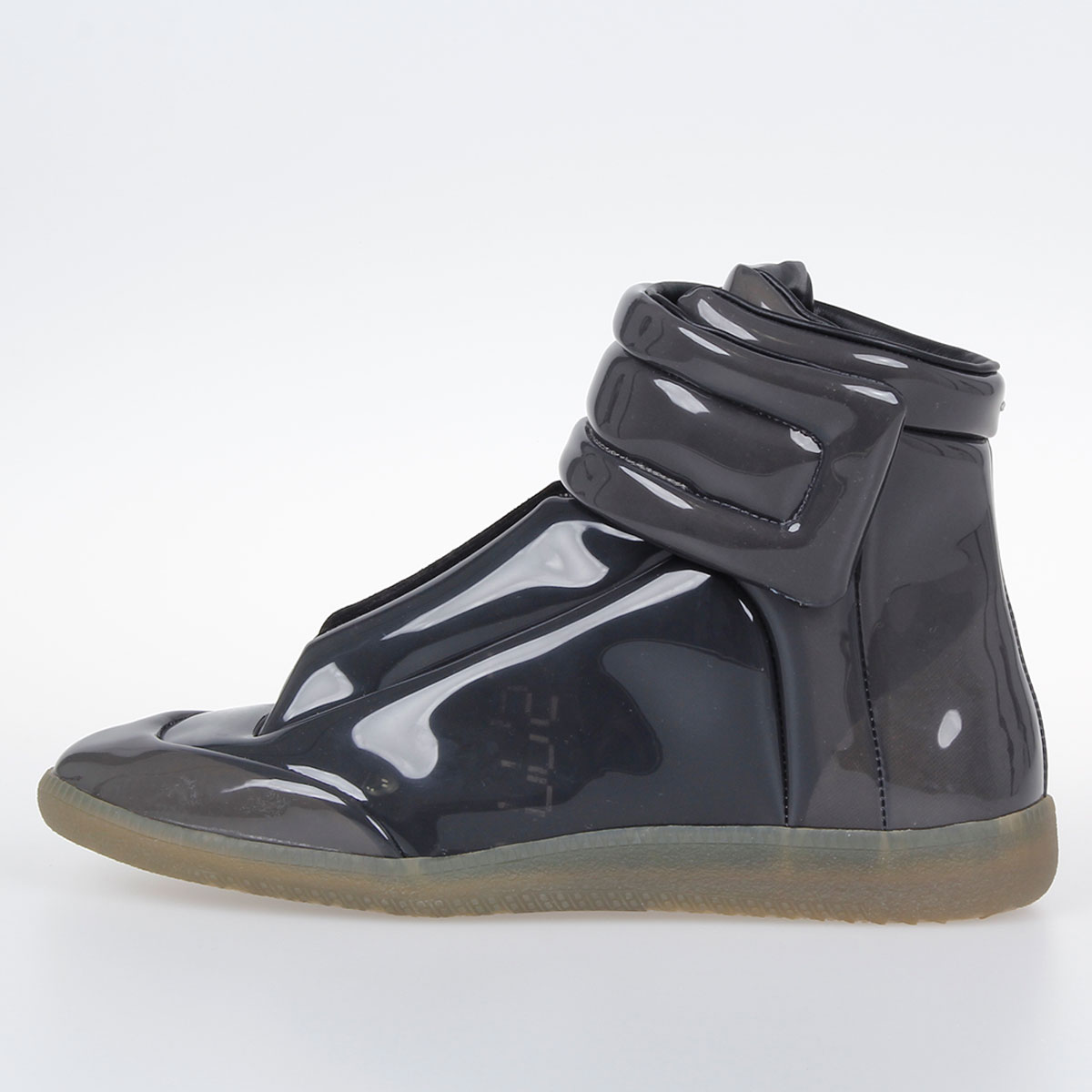 Margiela Martin En Glamood Mm22 Cuir Enduit Baskets Homme High uJ35TlFK1c