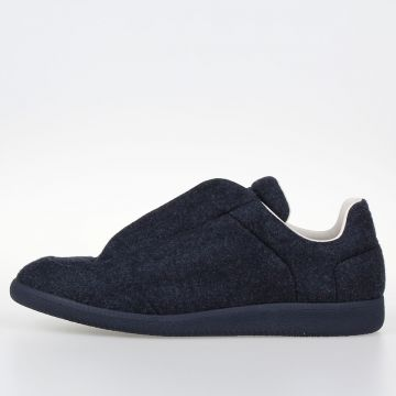 MM22 Sneakers in Pelle rivestiste in misto Lana